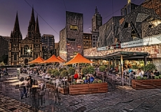 Fed Square dining