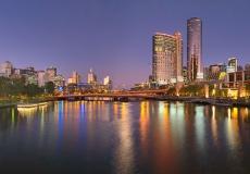 Melbourne Skyline Panoramic B
