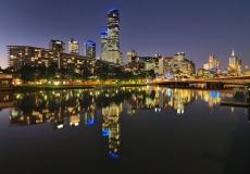 Melbourne Skyline # 1
