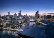 Melbourne Skyline # 10