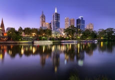 Melbourne Skyline # 11