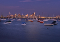 Melbourne Skyline # 12