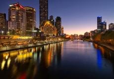 Melbourne Skyline # 16