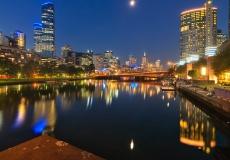 Melbourne Skyline # 19