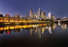 Melbourne Skyline # 5