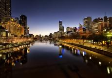 Melbourne Skyline # 7