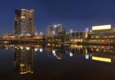 Melbourne Skyline # 8