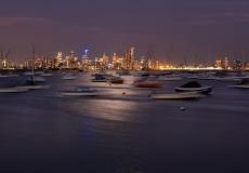 Melbourne Skyline # 13