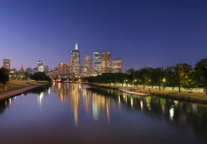 Melbourne Skyline # 14