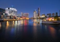Melbourne Skyline # 17