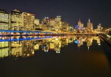 Melbourne Skyline # 4