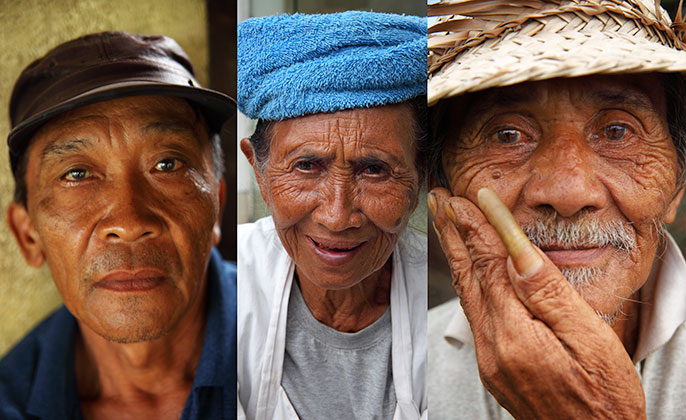 Faces of Bali Visual Resource Photography
