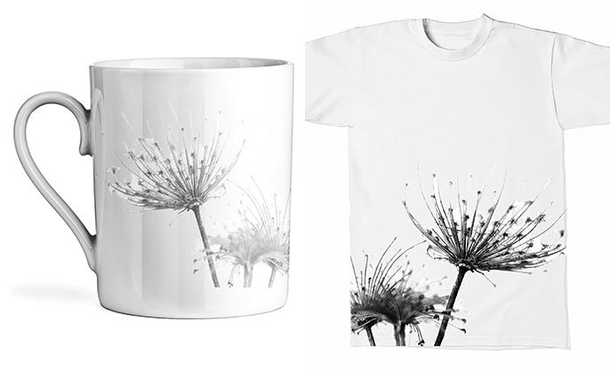 Tshirt mug - could your splashback art end up here