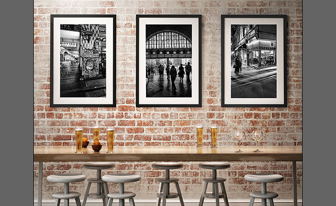 Melbourne Wall Art - Photography by Michael Collins for Visual Resource