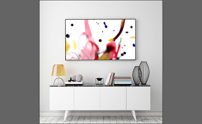 Wall Art by Visual Resource - PAINTERLY No 12