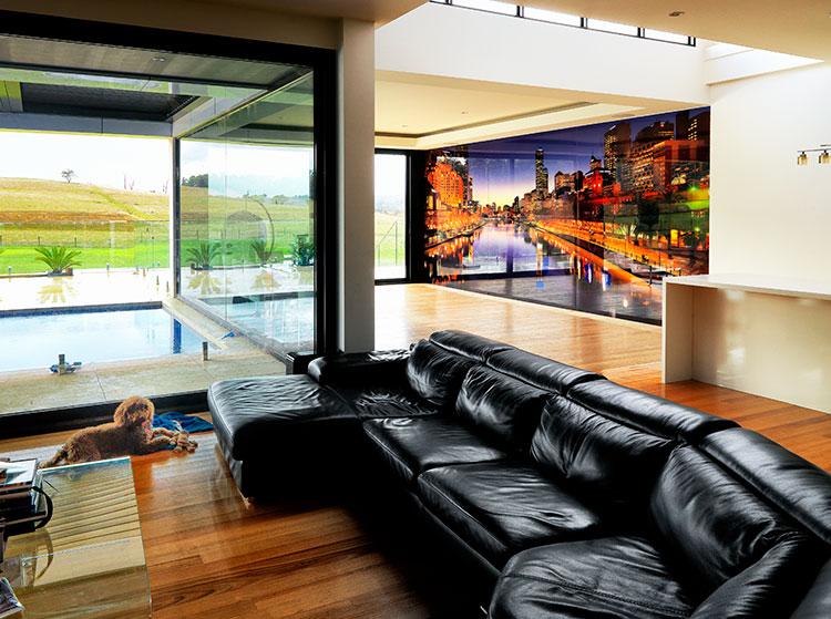 VR Art Glass Printed Glass Wall Art