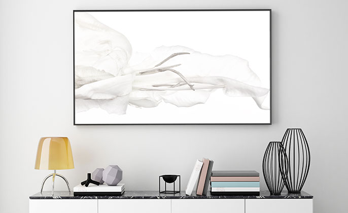 VR Artwork 01 WHITE ON WHITE new photo art by Michael Collins for Visual Resource
