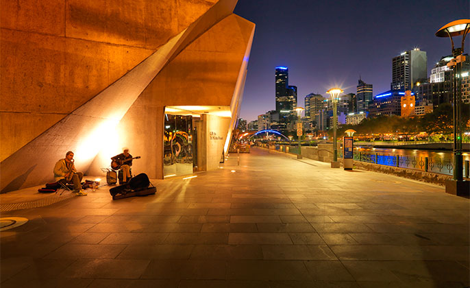 06 Melbourne Collection 4 photo art Melbourne Skyline by Michael Collins for Visual Resource