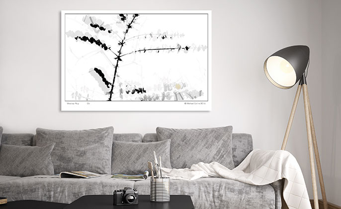 Visual Resource Art Print Photographic Wall Art SHADOW PLAY 06