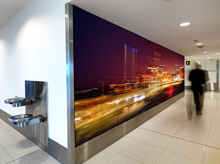 VR Artwork RAILYARDS Melbourne Airport Photography Wall Art by Michael Collins for Visual Resource